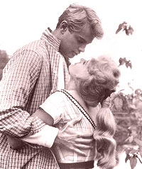 Connie Stevens and troy donahue